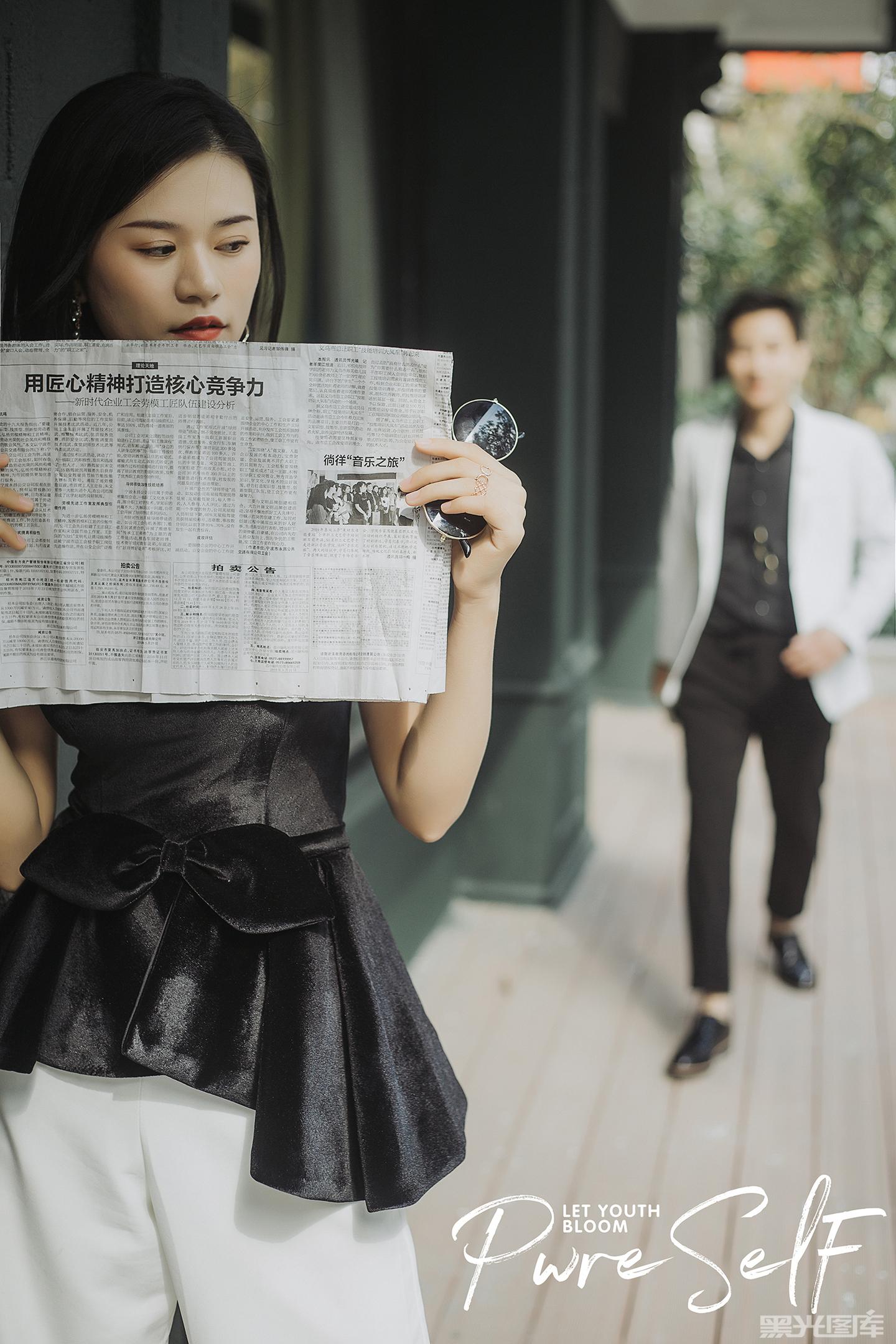 摄影师周将的婚纱摄影作品《客片》